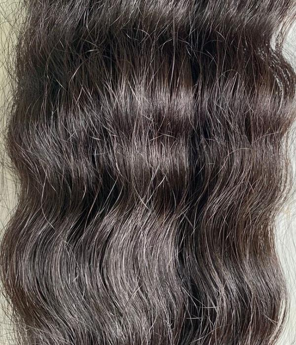 Raw Indian Hair Wavy Extensions