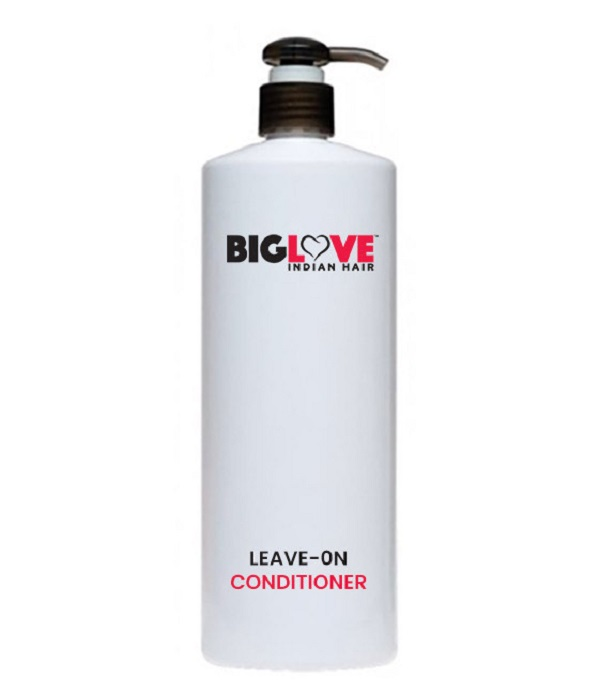 BigLove Raw Indian Hair Extensions leave-on-conditioner
